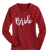 Brides Pajama Top